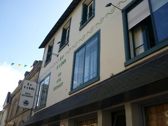 Hotel le Cobh : La facciata dell'albergo