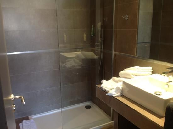 Hôtel de France : bathroom