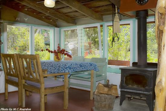 The Painted Hills Vacation Rentals: The  rustic Barn and Game Room