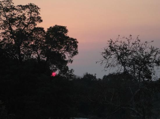 Panzi Bush Camp: South African sunset