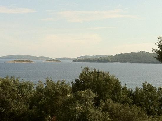 Hotel Villa Julija  Kralja: vue sur mer