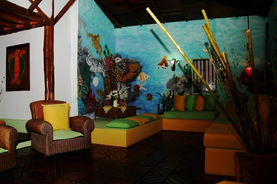 Posada Galapagos: Lobby