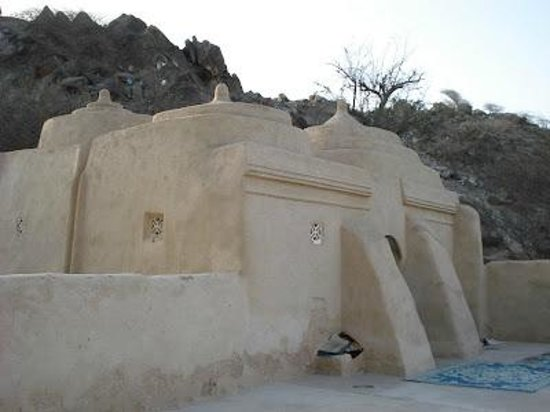 Fujairah, United Arab Emirates: This is AL BIDYAH MOSQUE