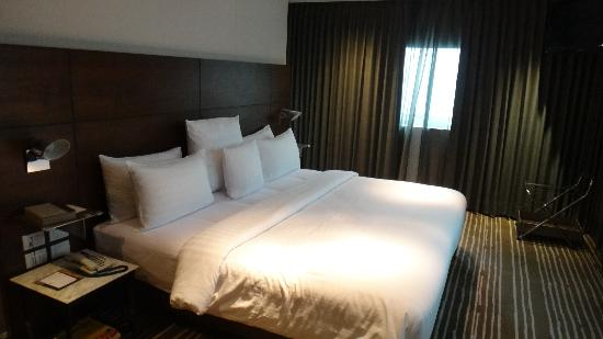 S31 Sukhumvit Hotel: one of the 3 bedrooms in the suite