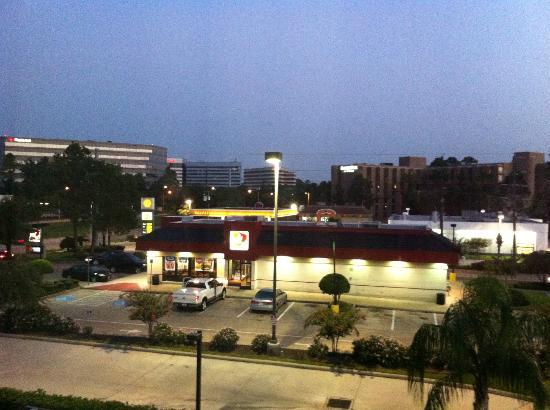 Hampton Inn & Suites Houston-Bush Intercontinental Airport : View from the window
