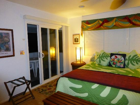The Bay House: chambre 