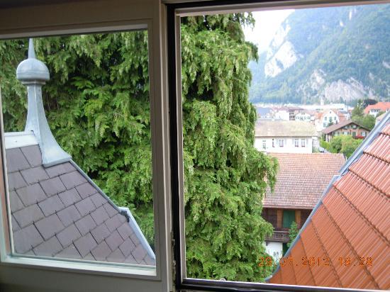 Hotel de la Paix: Vistas desde la habitación