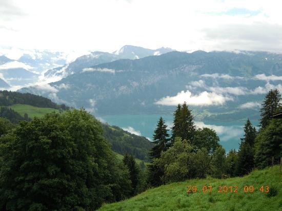 Hotel de la Paix: Vistas desde Beatenberg