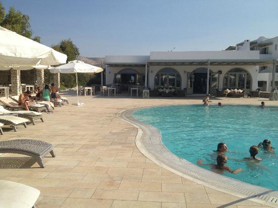 Saint Andrea Seaside Resort : Pool area