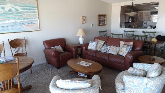 Pajaro Dunes Condominiums & Resort: Living Area