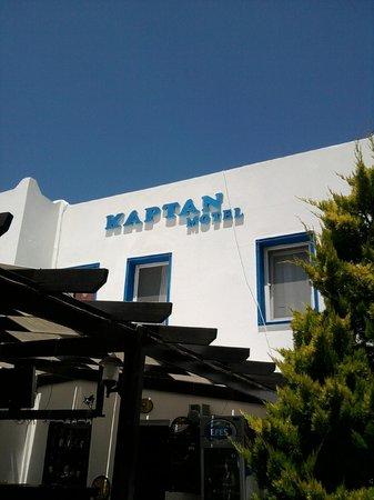 Kaptan Motel: otel dış görünüş