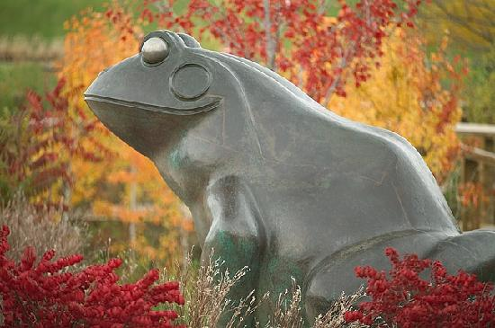 Grand Rapids, MI: Fall colors at Frederik Meijer Gardens and Sculpture Park