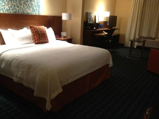 Fairfield Inn & Suites Montgomery Airport South : King Room Suite