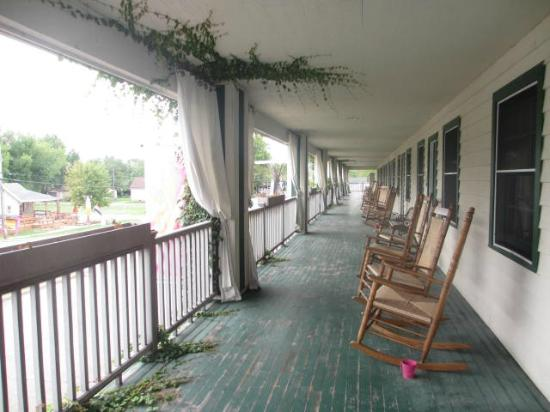 The Willows: Porch - upper level