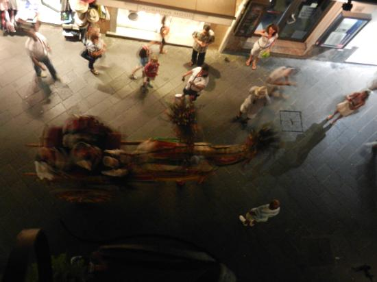 Hotel Residence Circe: Night life in Taormina