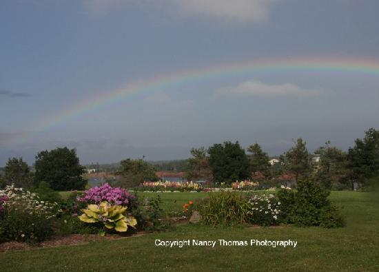 Stanley Bridge Country Resort: Flower Garden