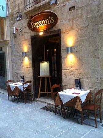 Papannis Italian Restaurant: PAPANNIS RESTAURANT