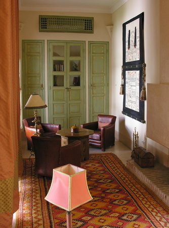 Riad Camilia: Suite 4 living