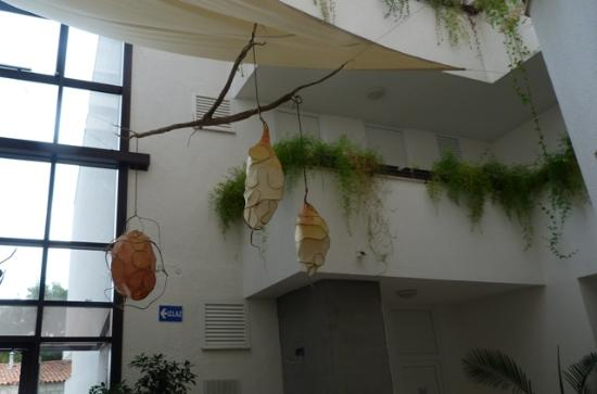 Hotel Baletna Skola: At the receiption area
