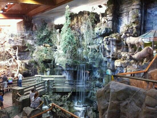 waterfall - Picture of Bass Pro Shops Outdoor World ...