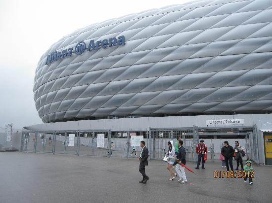 Allianz Arena Bild Von Central Hotel Apart München Tripadvisor