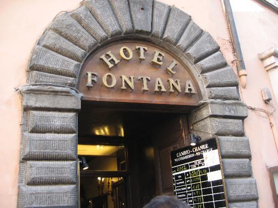 ฟอนทาน่า โฮเต็ล: Hotel Fontana, Rome , Italy