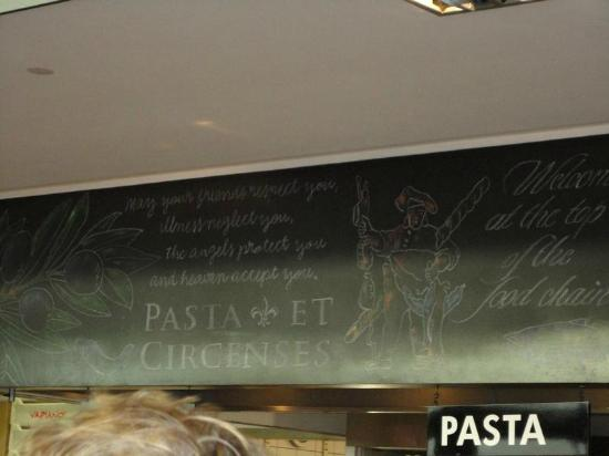 Vapiano: Some of the decoration