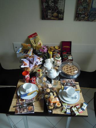 Sogni di Cioccolato: La tavola della prima colazione