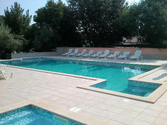Krnica, Croatia: pool