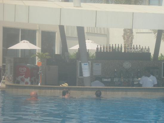 Swimming pool ariel view picture of yas island rotana Hotel with swimming pool in mount abu