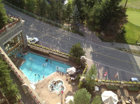 The Westin Resort & Spa, Whistler: View from room - pool!
