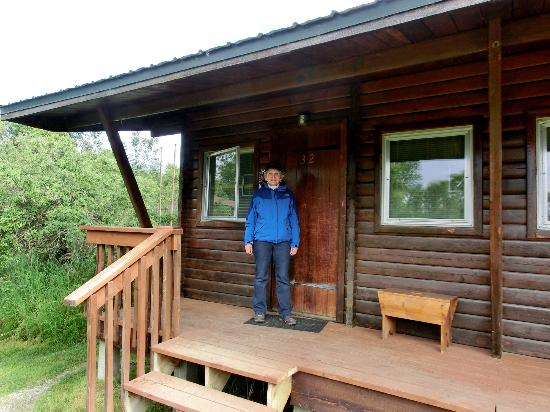 Our cabin, which adjoined other cabins.