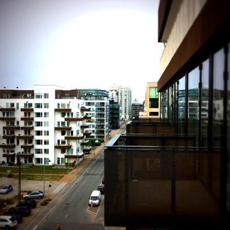 STAY Copenhagen: Blick vom Balkon