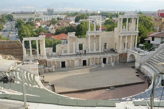 Plovdiv Roman Theatre: The Roman Theatre