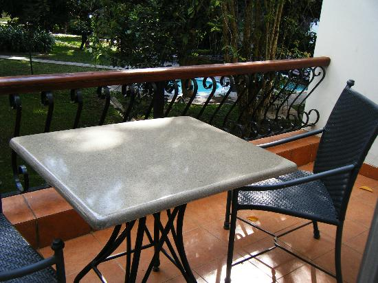Four Points by Sheraton Arusha, The Arusha Hotel: R. 704 balcony