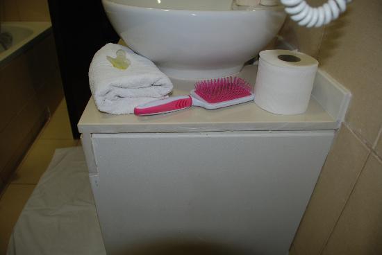 Filion Suites Resort & Spa: Bathroom dirt!!!!