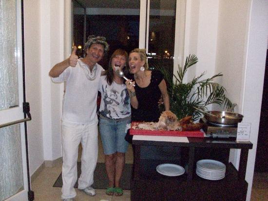 Hotel Gambrinus Mare : UNA BELLA SERATA !!!