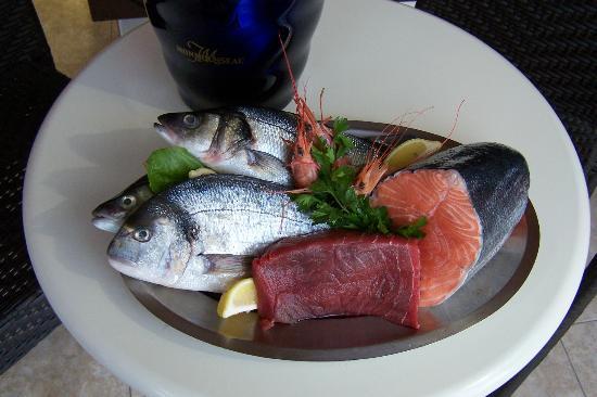 IL Tempio Divino: pesce di giornata frescho