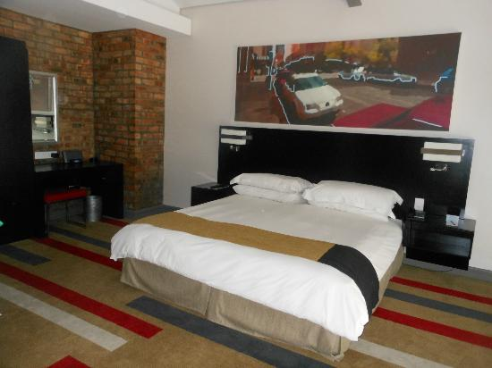 Protea Hotel Victoria Junction Waterfront : top floor of loft room