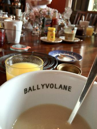 Ballyvolane House: Breakfast
