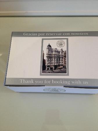 Hotel Atlantico: Gift from hotel