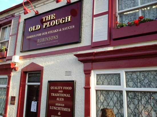 The Old Plough: from the street