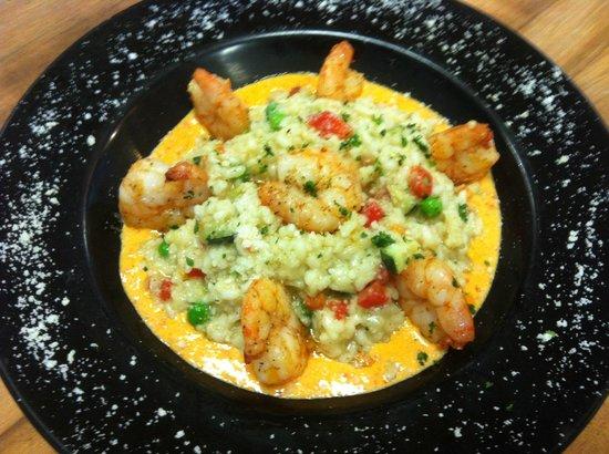 Mimmo's Pizzeria & Restaurant : Primavera Risotto with shrimps