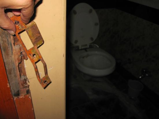 Hotel Pradeep: Lastima que no se ve bien el baño