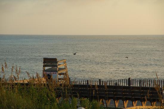 First Flight Retreat Condominiums: Beach View From Unit 114(Oceanfront)