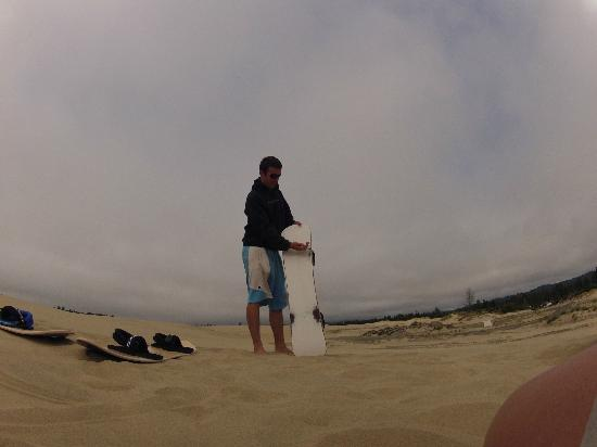 Sand Master Park: Waxing lesson from Matt