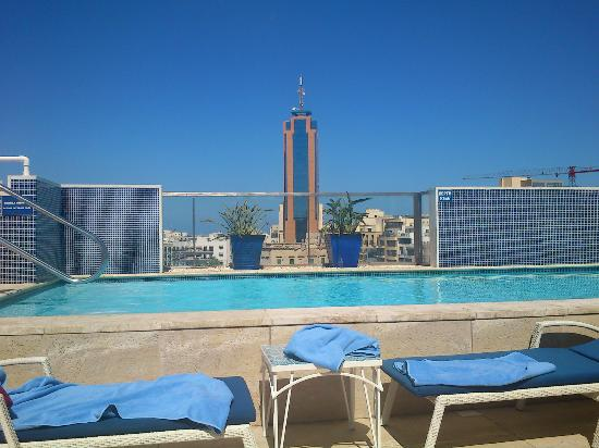 Hotel Juliani: View from rooftop pool