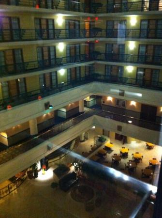 Embassy Suites by Hilton Indianapolis - Downtown: from inside the hotel