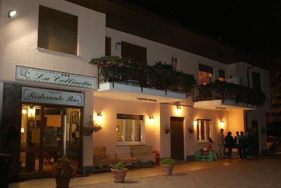 Hotel La Collinetta: La facciata dell'Hotel