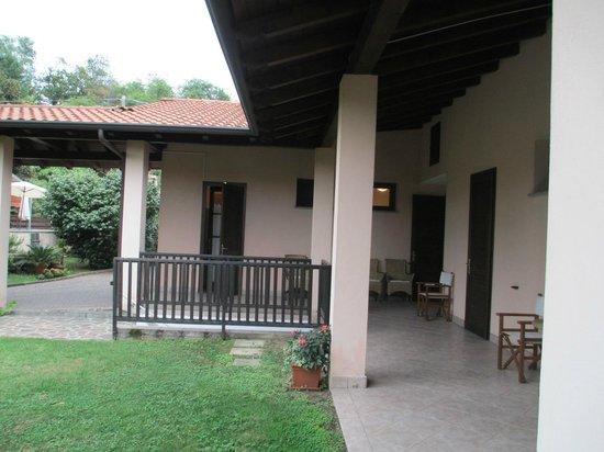 Hotel La Collinetta: La dependance dove si trovano le camere